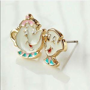 Beauty & the beast earrings